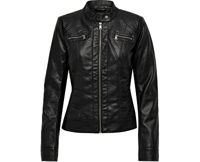 Doamnelor jacheta ONLBANDIT FAUX LEATHER BIKER OTW Noos Black
