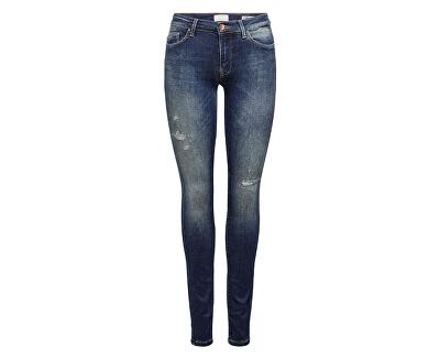 Dámske skinny džínsy ONLCARMEN 15182398 Dark Blue Denim
