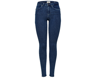 Jeans da donna skinny ONLPOWER 15169893 Dark Blue Denim