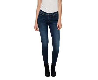 Jeans da donna skinny ONLSHAPE 15180740 Dark Blue Denim