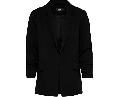 Blazer da donna ONLCAROLINA DIANA 3/4 BLAZER CC TLR Black