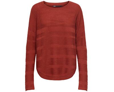 Maglione da donna ONLCAVIAR 15141866 Red Ochre MELANGE
