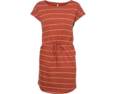 Dámské šaty ONLMAY LIFE 15153021 Arabian Spice CLOUD DANCER