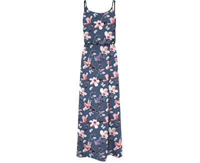 Dámské šaty ONLNOVA LIFE 15222217 Vintage Indigo BUTTERFLY FLORAL