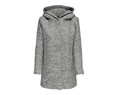 Női kabát ONLSEDONA 15156578 Light grey Melange