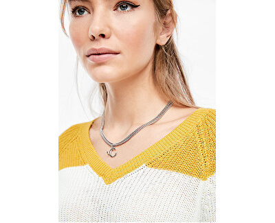 SLEVA - Dámský svetr 46.002.61.2779.15G0 Golden yellow stripes