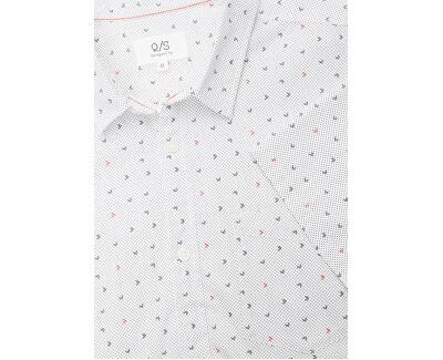 Pánská košile 47.004.22.4710.01A0 White AOP