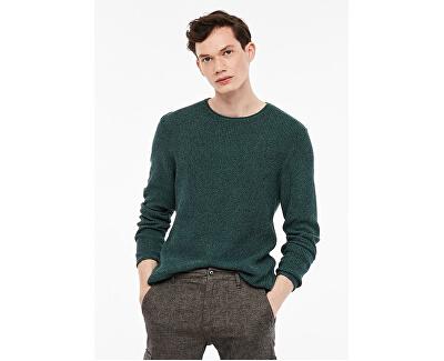 Pánsky sveter 44.899.61.2601.78W0 Green Melange