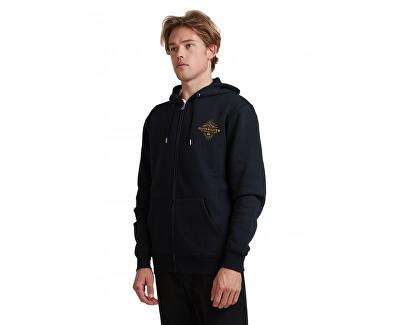 Férfi sportfelső Before Light Zip Hood EQYFT04205-KVJ0