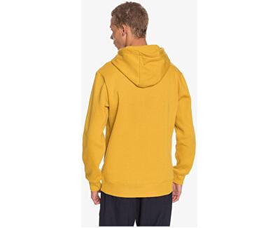 Square Me Up Screen Fleece EQYFT04203-YLV0 férfi kapucnis pulóver