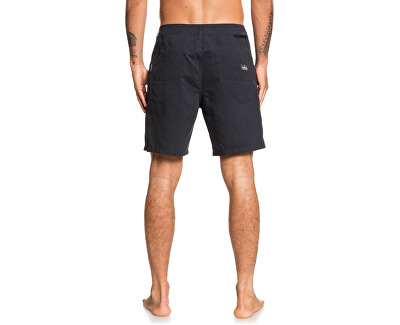 Pantaloncini da uomo Nelson Surfwash Amphibian 18 Neri EQYWS03646-KVJ0