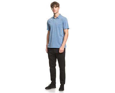 T-shirt da uomo polo Acid Sun Polo Stone Wash EQYKT03967 -BKJ0