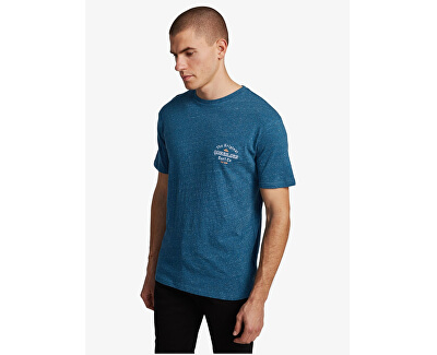 T-shirt da uomo Energy Project Ss MaiolicaBlueHeather EQYZT05816-BSMH