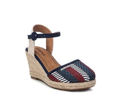 Dámské sandále Navy Pu Ladies Shoes 69566 Navy