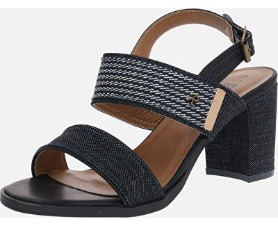 Dámské sandále Navy Textile Ladies Sandals 69598 Navy