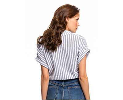 Camicia da donna Full Time Dream Mood IndigoLago con Stripes ERJWT03385-XWBW