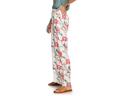 Pantaloni da donna Beside Me Snow White Tropic Call ERJNP03287-WBK7