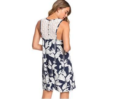 Vestito da donna What Lovers Do Mood Indigo Flying Flowers ERJKD03315-BSP7
