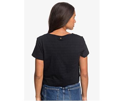 T-shirt da donna Sand Is My Playground Anthracite ERJKT03657-KVJ0