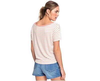 T-shirt da donna Wake Up With The Sun Cafe Creme Zoupla Horizontal ERJZT04818-TJB4