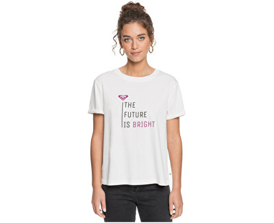 Női póló Pop Surf Tee C ERJZT05067-WBK0