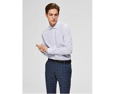 Pánská košile SLHSLIMCODEN SHIRT LS MIX B White Stripes