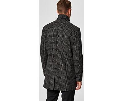 Pánsky kabát SLHMOSTO WOOL COAT B NOOS Grey