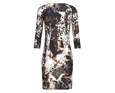 Dámske šaty 19555 Brown