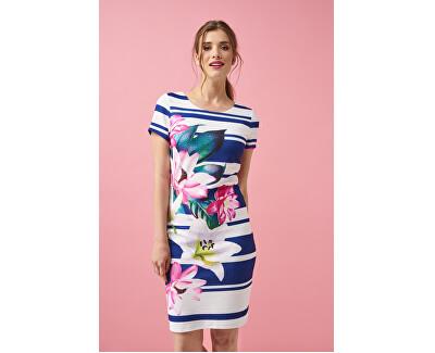 Vestito da donna 20234.Navy/Pink