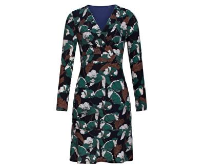 Dámske šaty 19527 Black / Petrol