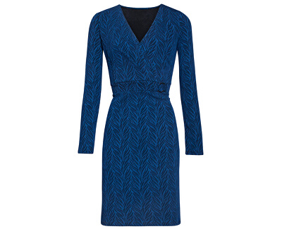 Dámske šaty 19639 Cobalt