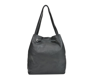 Dámská kožená kabelka AW19SC1564 Nero