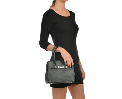 Dámská kožená kabelka AW20SC1568 Nero