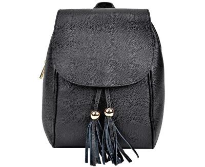 Dámský kožený batoh AW20SC1418 Nero