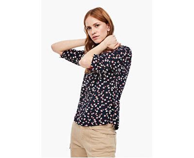 Bluză pentru femei 04.899.19.6043.59B3 Navy AOP