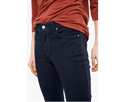 Dámske slim fit džínsy 14.003.72.3524.58Z8 Dark steel blue denim