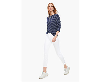 Dámske slim fit džínsy 14.003.72.3524.01Z8 White denim stretch