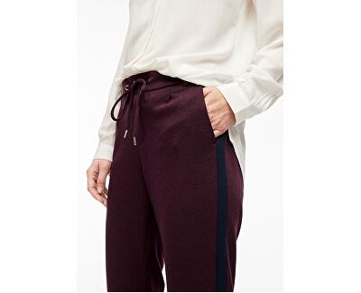 Pantaloni pentru femei TROUSERS Bordeaux Glencheck 14.910.76.5049.49R5