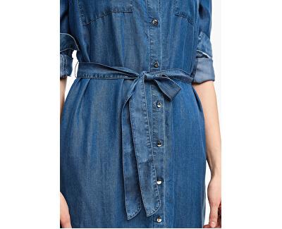 Dámské šaty 14.003.82.3162.56Y2 Blue denim non stripes
