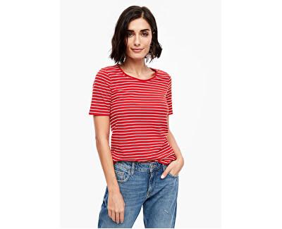 T-shirt da donna 04.899.32.6022.31G3 Red stripes