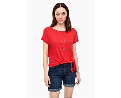 T-shirt da donna 04.899.32.6071.3123 Luminous Red