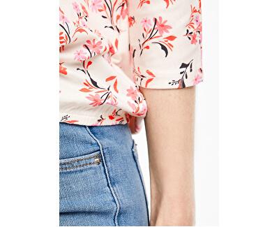 Maglietta da donna14.001.39.5948 .02C3 Creme Floral Print