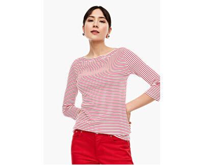Dámské triko 14.003.39.5905.31G6 Alarmrot stripes