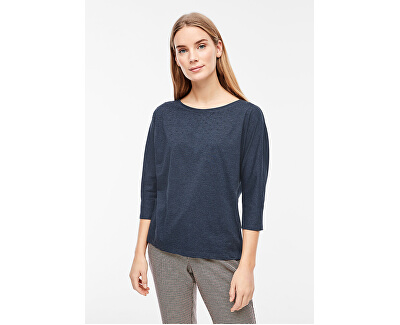 Tricou pentru femei T-SHIRT 3/4 MANECI Navy Plasate Print 14.910.39.2434.59D2