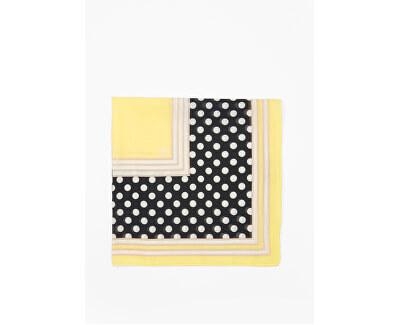 Foulard da donna 38.899.91.5813 .99D2 YellowPlacedPrint