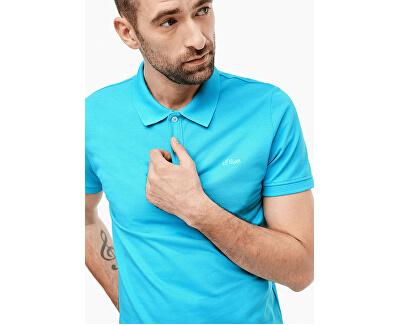 T-shirt da uomo polo 03.899.35.5268.6242 Turquoise