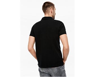 T-shirt da uomo polo03.899.35.5268 9999 Black
