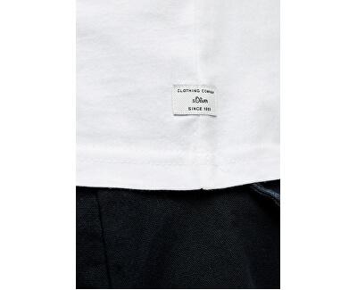T-shirt da uomo 03.899.32.5049.0100 White