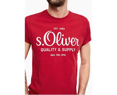 T-shirt da uomo 13.003.32.4738.03 Mark red