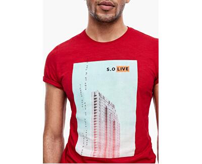 Pánské triko 13.003.32.4738.3185 Marker red